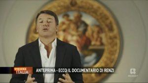 A Stasera Italia Matteo Renzi ha presentato in anteprima il suo documentario | VIDEO