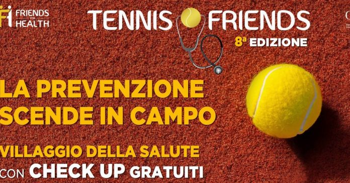 tennis & friends 2018 roma