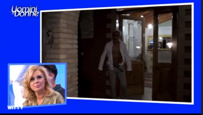 Uomini e Donne Over furiosa lite Rocco e Gemma