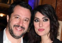Matteo salvini ed Elisa isoardi