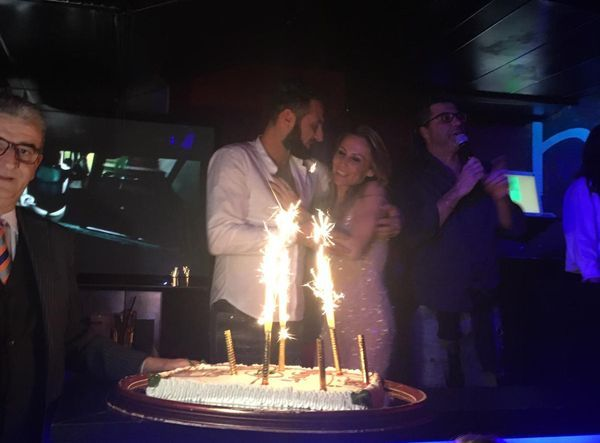 Uomini e donne: torta sossio e ursula festa compleanno