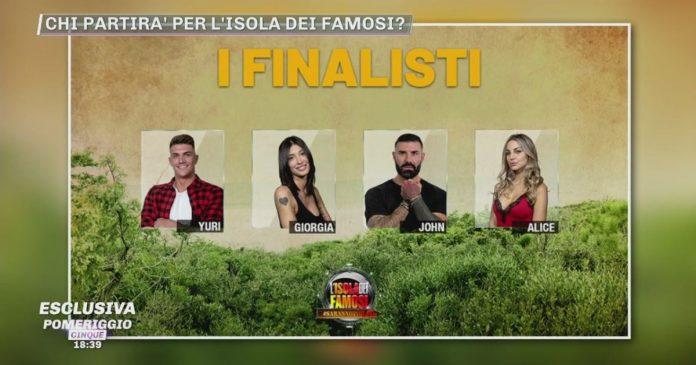 Saranno isolani finalisti