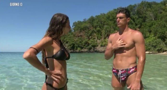 Sarah Altobello e Yuri Rimbaldi - Isola dei famosi