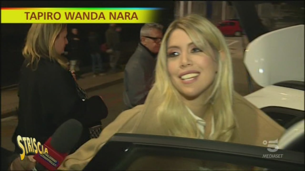 Striscia la notizia - Tapiro Wanda Nara