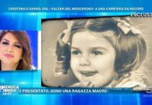 Cristina d'avena a Domenica Live