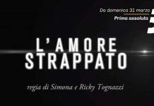 Foto frame promo L'amore strappato Canale 5