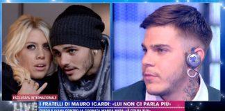 Foto fratelli Icardi Live - Non è la D'Urso
