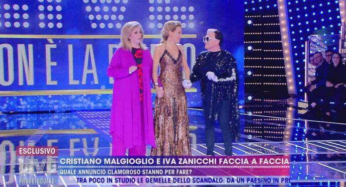 Cristiano Malgioglio e Iva Zanicchi