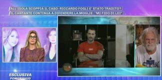 domenica live - Fabrizio Corona - Barbara
