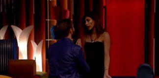 Il confronto tra Alex Belli e Mila Suarez al Grande Fratello 16