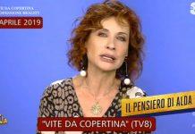 Foto Alda D'Eusanio Striscia la notizia 2019