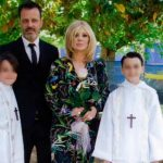Foto Kikò Nalli Tina Cipollari e figli