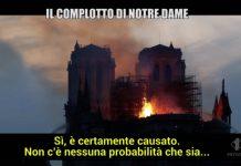 Foto Le Iene incendio Notre dame complotto