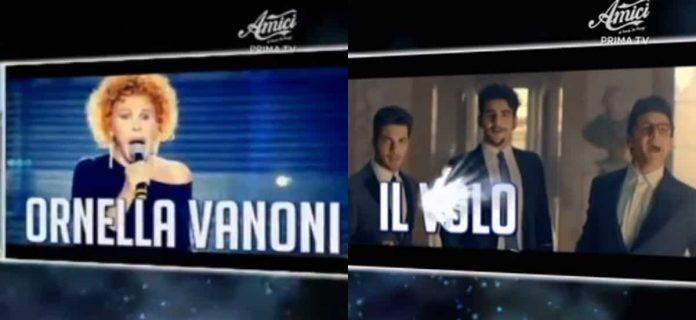 Foto Vanoni e Il Volo ospiti Amici 2019 Serale terza puntata 13 aprile