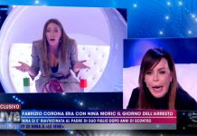 Foto lite Nina Moric Karina Cascella Live - Non è la D'Urso 2019
