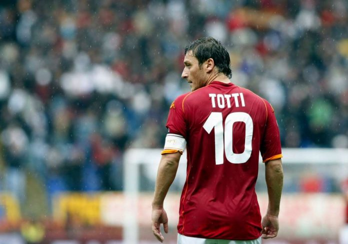 Francesco Totti a Verisimo