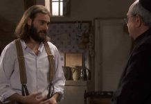 Isaac ne Il Segreto in onda oggi su Canale 5