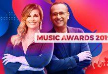 Music Awards 2019 su Rai 1