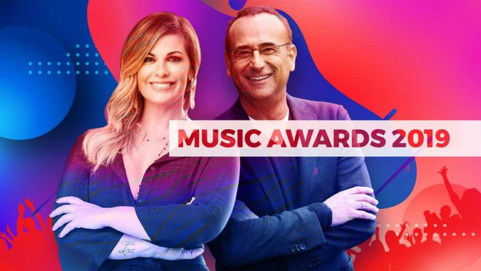 Music Awards 2019 su Rai 1