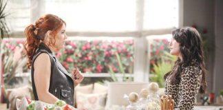 Quinn e Sally in una scena di Beautiful