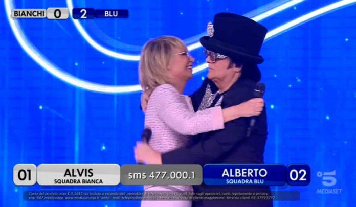 Renato Zero ospite ad Amici 2019 Serale con Maria De Filippi