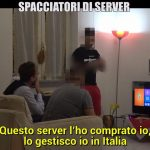 foto spacciatori di server Le Iene