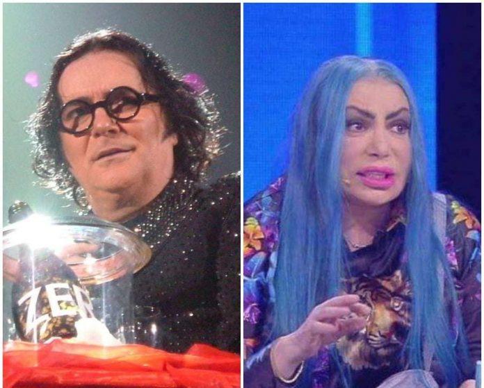 Renato Zero e Loredana Berte ad Amici 2019