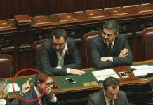 Striscia La Notizia Matteo Salvini e Elisa Isoardi
