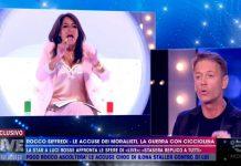 Aida Nizar imbarazza Rocco Siffredi a Live - Non è la D'Urso