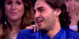 Alberto Urso in lacrime ad Amici 2019 Serale