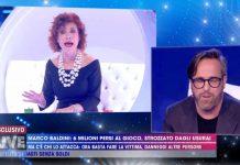 Alda D'Eusanio e Marco Baldini a Live - Non è la D'Urso