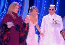Cristiano Malgioglio vestito da sposa nella sesta puntata di Grande Fratello 2019