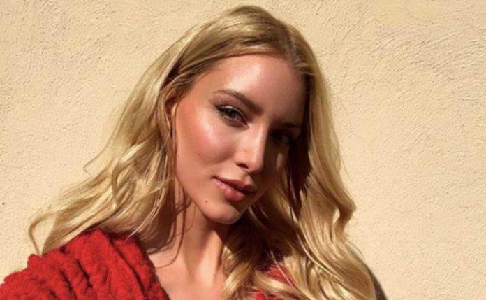 La modella Ema Kovac