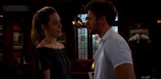 Hope e Liam discutono del loro matrimonio in Beautiful