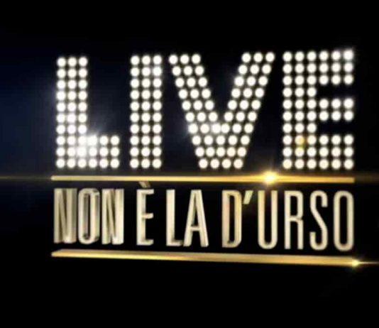 Il logo di Live - Non è la D'Urso, programma di Canale 5 con Barbara D'Urso prodotto da VideoNews