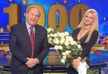 Michelle Hunziker festeggia 1000 puntate di Striscia la notizia
