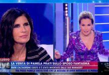 Pamela Prati e Barbara D'Urso a Live