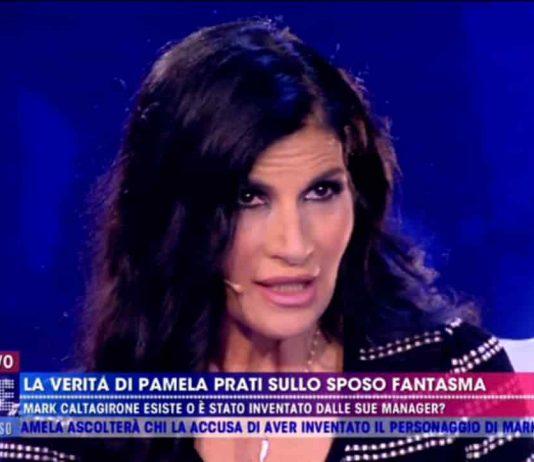 Pamela Prati a Live - Non è la D'Urso