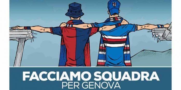 facciamo squadra per Genova, evento tv