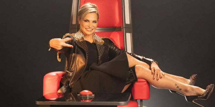 Simona Ventura a The Voice 2019