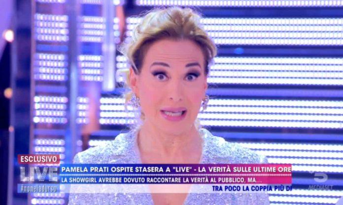 Barbara D'Urso spiega perché è saltata la nuova intervista di Pamela Prati a Live - Non è la D'Urso