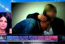 Eliana Michelazzo parla con la madre a Live - Non è la D'Urso