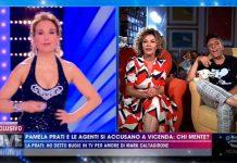 Eva Grimaldi e Imma Battaglia intervistate a Live - Non è la D'Urso