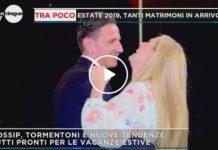 Federica Panicucci balla col fidanzato Marco a Mattino 5