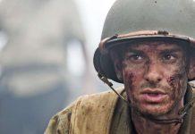 """Una scena del """"FILM"""" La battaglia di Hacksaw Ridge"""