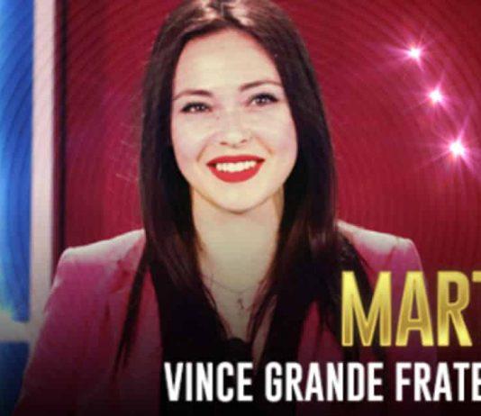 Nella foto: la vincitrice di Grande Fratello 2019, Martina Nasoni