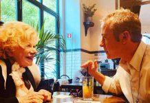 Pierluigi Diaco e Sandra Milo a Io e Te su rai1