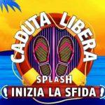 Il logo ufficiale di Caduta Libera Splash
