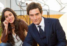 Lontano da te - nuova Fiction di Canale 5 - Foto di Scena con Megan Montaner e Alessandro Tiberi