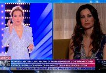"""Manuela Arcuri parla di """"Simone Coppi"""" in un'intervista a Live - Non è la D'Urso"""